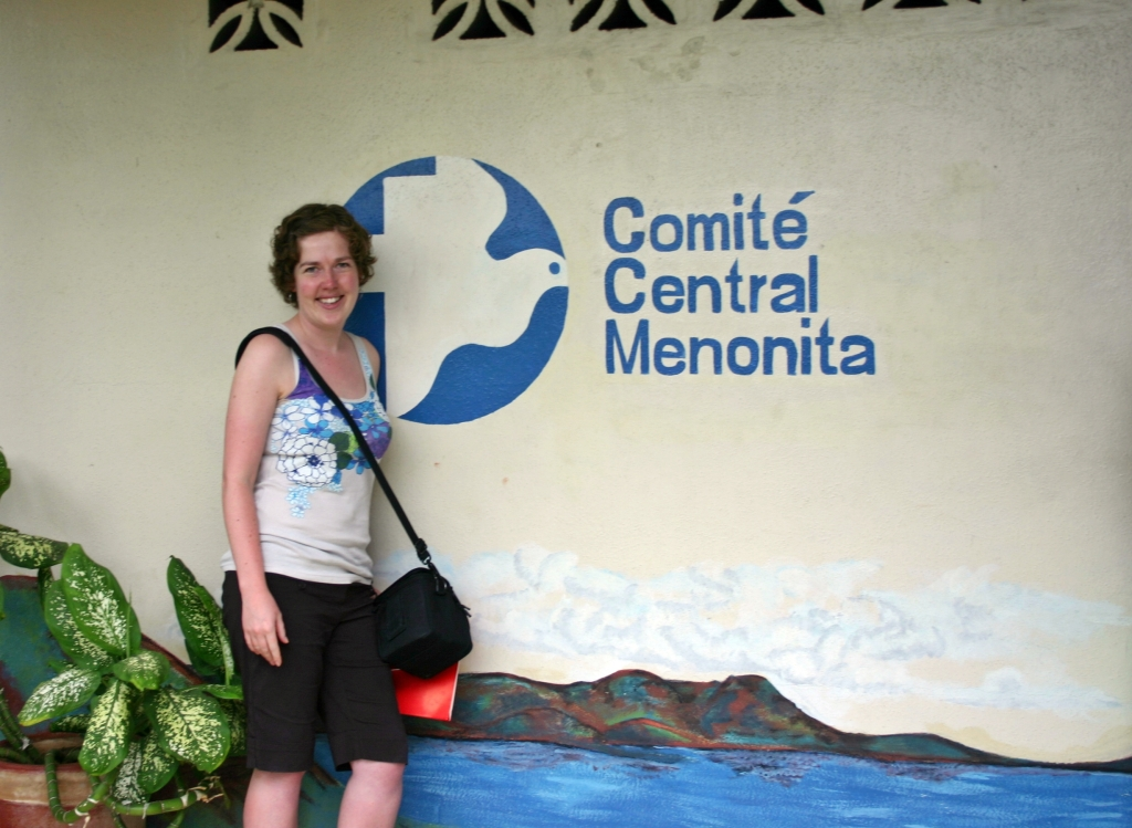 At orientation in Nicaragua before getting to Colombia