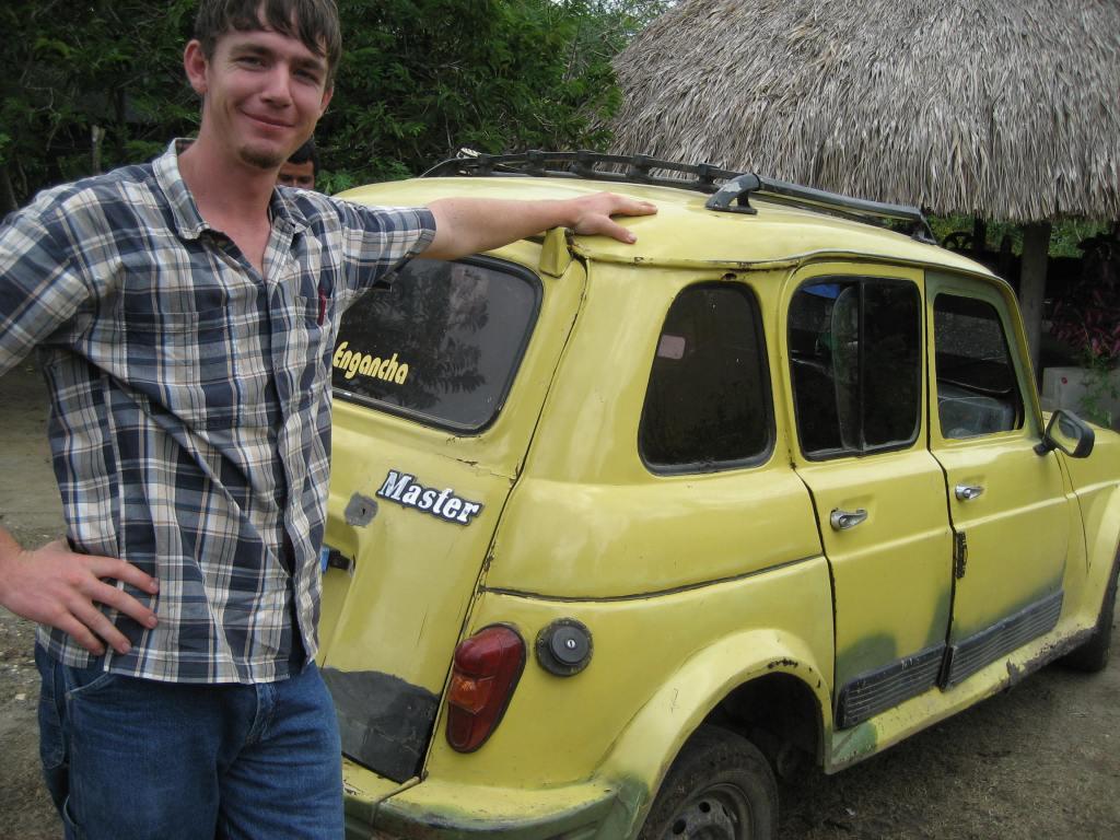 The van's sad replacement- the clown car.