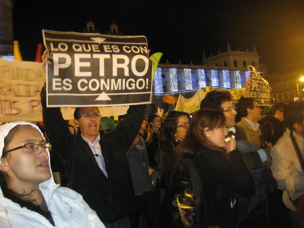 Protest in December