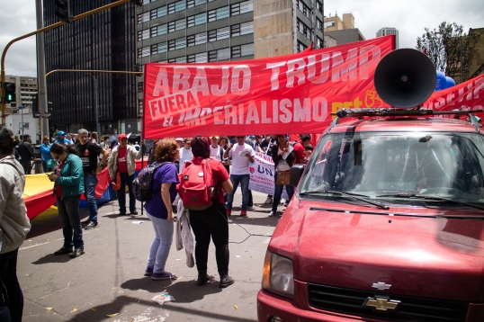 Down with Trump! Out with Imperialism!